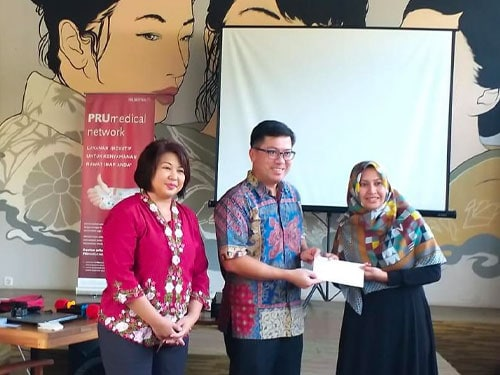 Dr Tang visits Majelang, central Java to share more about Breast Cancer
