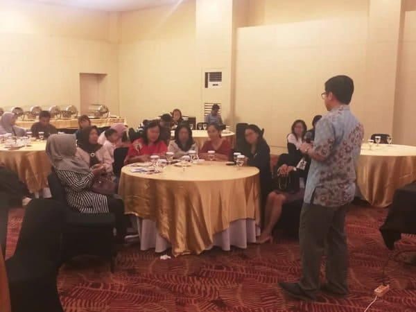 Sharing more about breast cancer in Balikpapan, Indonesia.